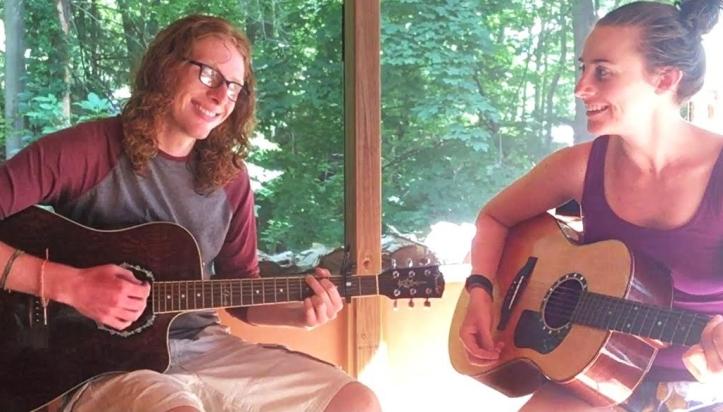 guitar people singing