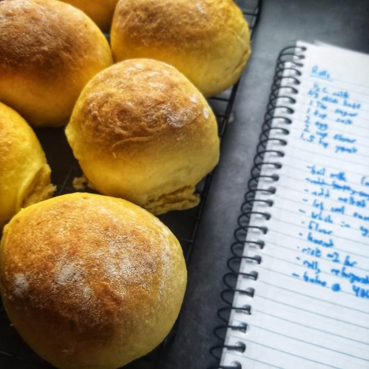 bread rolls baking recipes hobby