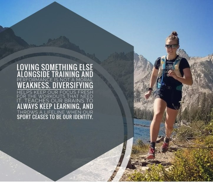 running mountains text hobby